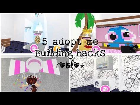 adopt  building hacks roblox youtube