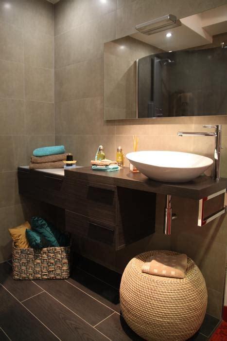 deco m6 salle de bain photo taupe et carrelage d 233 co photo deco fr