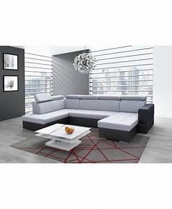 canape panoramique convertible softy xxl With tapis de gym avec canape en u xxl