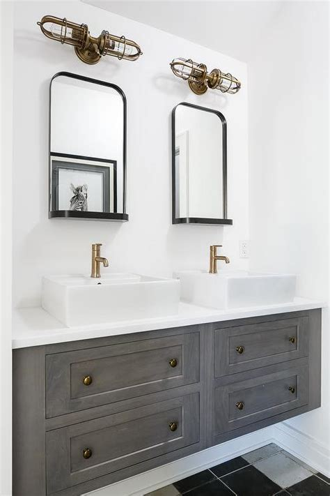 white  gold bathroom sconces transitional bathroom