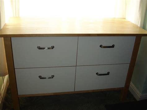 ikea kitchen island with drawers ikea varde freestanding kitchen island storage drawer unit