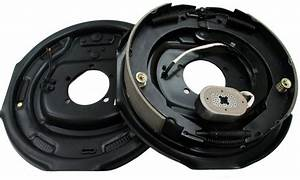 New 12 U0026quot  X 2 U0026quot  Electric Trailer Brake Assembly Pair Set For