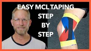 Mcl Taping Tutorial  How To Tape A Medial Collateral