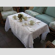 Lace Tablecloths  Tea Party Ideas & Recipes