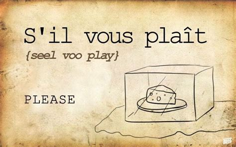 Basic French Words   French words, How to speak french ...