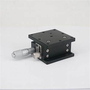 Z Axis 60x60mm Adjustable Precision Manual Linear Stage