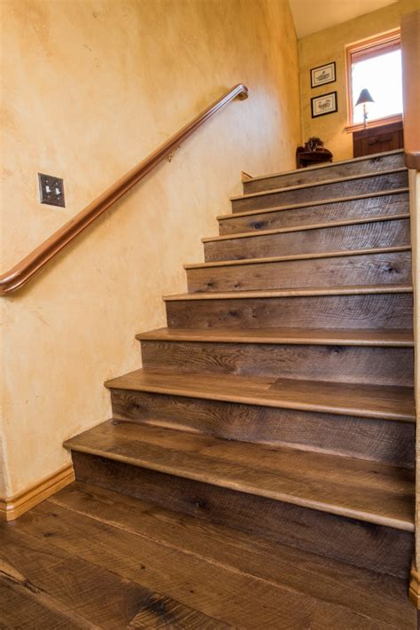 stairs hand rails hardwood flooring colorado ward