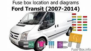 Fuse Box Location And Diagrams  Ford Transit  2007