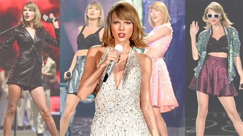 Taylor Swift's 12 Best Outfits from the 1989 World Tour ...
