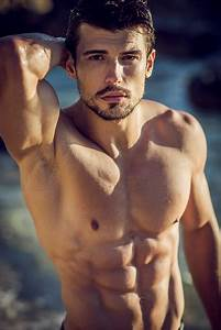 Posrtrait Of A Handsome Ripped Young Man Stock Photo - Download Image Now
