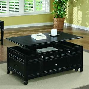 Shop, Black, Solid, Wood, Lift, Top, Storage, Cocktail, Table, -, Free, Shipping, Today, -, Overstock