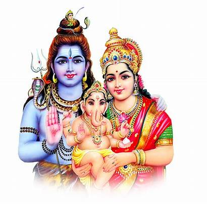 God Transparent Shiva Lord Ganesh Parvathi Hindu