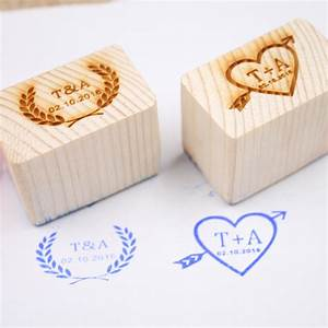 personalized wedding stamp custom wood rubber stamp With custom wedding invite stamps
