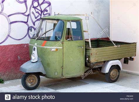 Piaggio Ape 500 Moped Van Pick Up Truck Trucks Pickup