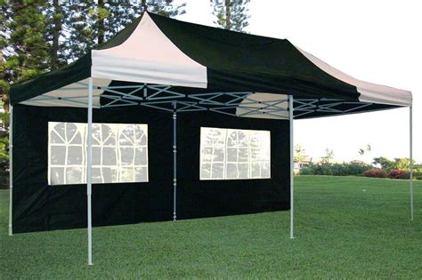 black  white pop  tent canopy gazebo