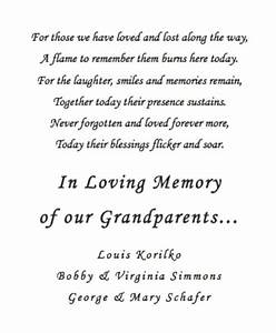 memorial candle poem sayings pinterest poem wedding With wedding ceremony remembrance wording