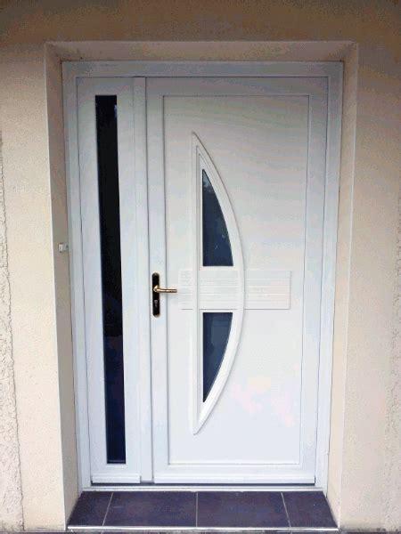 porte d entree vitree pvc pose d une porte d entr 233 e en pvc blanc mod 232 le ginseng