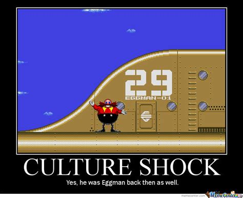 Meme Culture - eggman culture shock by dracodias meme center