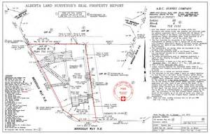 Land Survey Report Template by 39 S Garage Encroaching On Property Calgarypuck