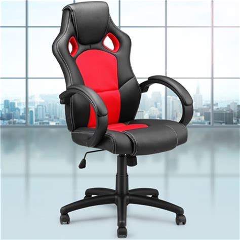 race car style pu office chair sales