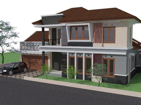 desain rumah minimalis tropis lembang bandung archie