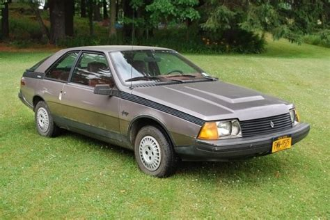1984 renault fuego freaky french folly 1984 renault fuego