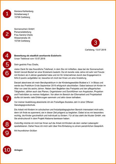 Initiativbewerbung Anschreiben by 7 Initiativbewerbung Anschreiben B 252 Rokauffrau Sporting
