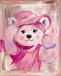 Tableau Chambre Fille : peinture nounours pastel vente tableau ourson pour dcoration chambre d 39 enfants decore ta chambre ~ Teatrodelosmanantiales.com Idées de Décoration