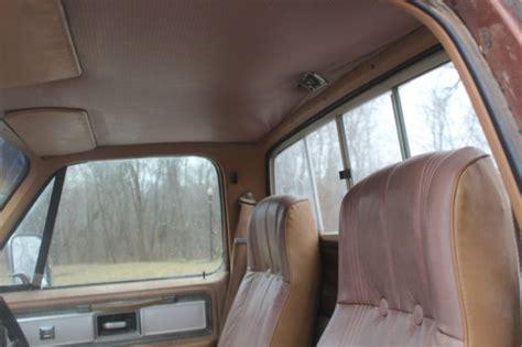 chevy silverado camper special  factory bucket seats