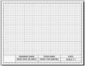 Big Box Graph Paper Engr1304 Titleblocks