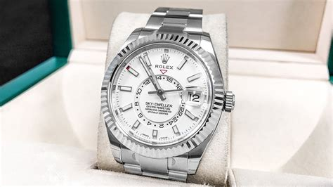 New Rolex Skydweller In Stainless Steel  Better Than
