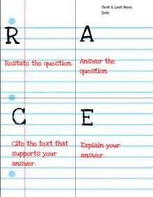 Writing Response Race