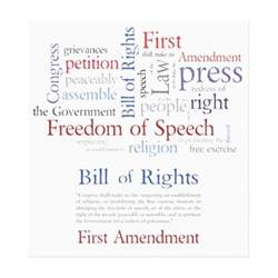 Freedom of Speech First Amendment Rights