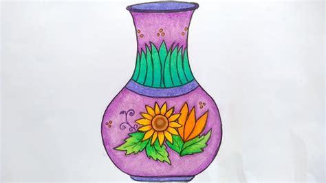 Apa itu gambar 3d atau 3 dimensi? Menggambar Vas Bunga Menggambar Guci Belajar Menggambar Dan Mewarnai Untuk Pemula Youtube