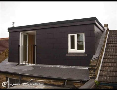 Dormer Roof Extension by Slate Dormer Wall Side Slating Felting Of A Dormer Roof