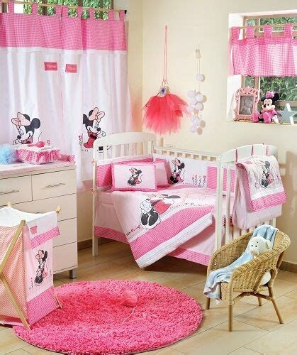 Minnie Mouse Baby Bed by Brand New Disney 4 Minnie Mouse Flower Crib Bedding