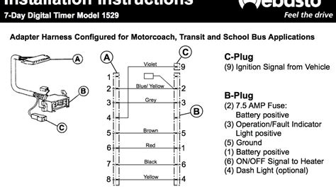 webasto telestart t100 wiring diagram wiring diagram and