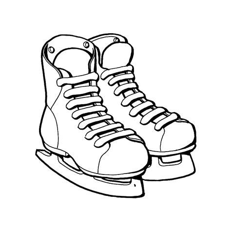 Kleurplaat Ijshockey by Leuk Voor Ijshockey Schaatsen
