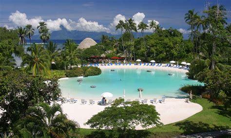 le meridien polynesia le meridien tahiti punaauia polynesia resort hotel tahiti