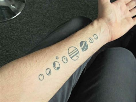 Planet Tattoo Designs, Ideas and Meaning | Tattoos For You