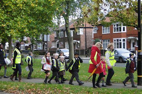 walking school bus promotes  safe  healthy