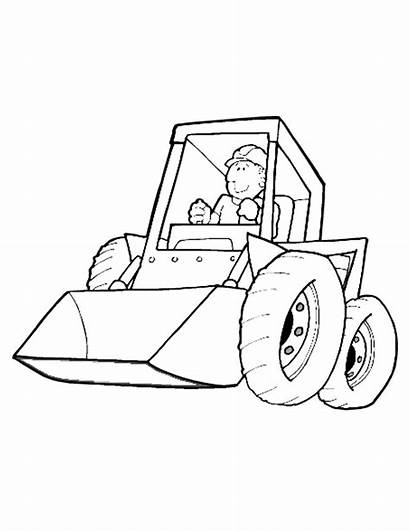 Coloring Construction Pages Printables Printable Machinery Popular