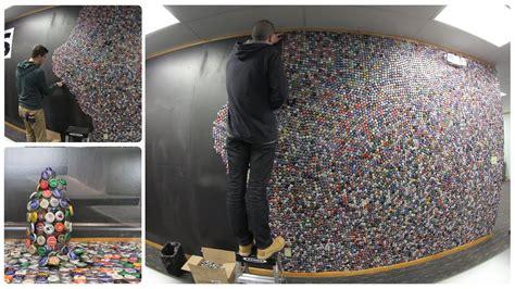 bottle cap wall  bottle caps   wall