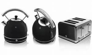 Toaster Retro Design : swan retro dome kettle and toaster groupon goods ~ Frokenaadalensverden.com Haus und Dekorationen