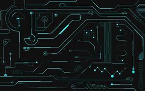 Wallpaper Printed Circuit Board  Electronic Circuit
