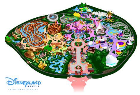 Disneyland Map Clipart