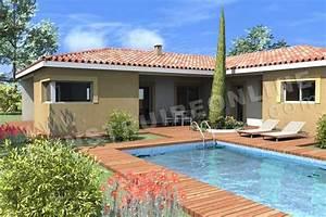 Maison En L Moderne : plan de maison moderne pyla ~ Melissatoandfro.com Idées de Décoration