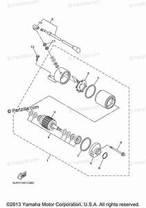 Yamaha Atv 2005 Oem Parts Diagram For Starting Motor