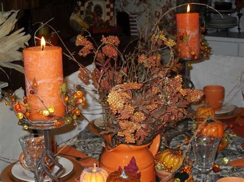 thanksgiving outdoor table decorations colorful fall table decoration halloween party