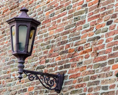 old street l on brick wall colourbox
